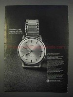 1966 Electric Timex Watch Ad - Get a Charge Out Of