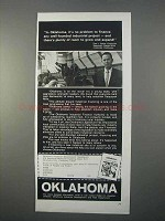 1966 Oklahoma Industrial Development Ad - Finance