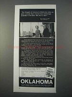 1966 Oklahoma Industrial Development Ad - A Shock