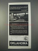 1966 Oklahoma Industrial Development Ad - Can Save