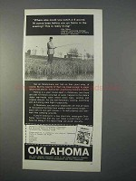 1966 Oklahoma Industrial Development Ad - Catch Bass