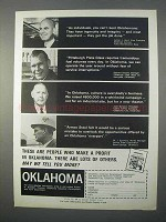 1966 Oklahoma Industrial Development Ad - Individuals