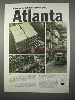 1966 Atlanta Chamber of Commerce Ad - Distribution