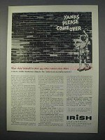 1966 Irish Industrial Development Authority Ad - Yanks