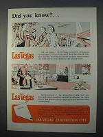 1966 Las Vegas Convention Center Ad - Did You Know?