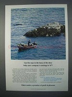 1966 Maine Economic Development Ad - Bow of the Dory