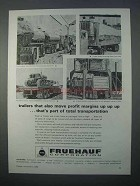 1966 Fruehauf Trailers Ad - Move Profit Margins Up