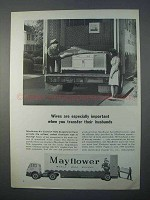 1966 Mayflower Transit Ad - Wives Are Important