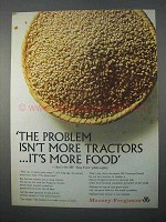 1966 Massey-Ferguson Tractor Ad - It's More Food