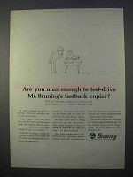 1966 Bruning 2000 Copier Ad - Test-Drive Fastback
