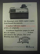 1966 Bruning 3000 Copier Ad - From Bound Documents