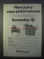 1966 Bruning 2000 Copier and Multilith Offset 2550 Ad - Copy-pickin