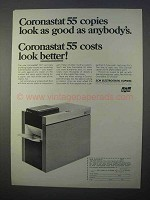 1966 SCM Coronastat 55 Copier Ad - Look As Good