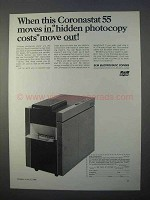 1966 SCM Coronastat 55 Copier Ad - Hidden Costs