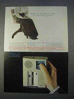 1966 IBM Executary 224 Dictating Unit Ad - Secretary