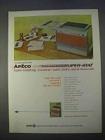 1966 Apeco Super-Stat Copier Ad - Copies Everything