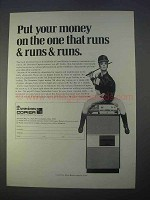 1966 Dennison Copier Ad - Put Money On One That Runs