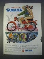 1966 Yamaha Campus 60 Motorcycle Ad - Swinging World