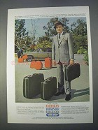 1966 American Tourister Luggage Ad - Bob Hope