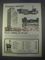 1966 Holiday Inn Ad - Planning a Meeting?