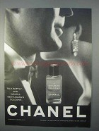 1966 Chanel A Gentleman's Cologne Ad - Talk Softly