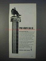 1966 American Cancer Society Ad - From Where You Sit