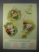 1966 Hellmann's Mayonnaise Ad - Best in May Salads