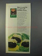 1966 Del Monte Prunes Ad - A Good Day For Salads