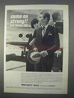1966 Botany 500 Classic Suit Ad - Come on Strong