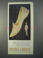 1966 Daniel Green Harem Slipper Shoe Ad