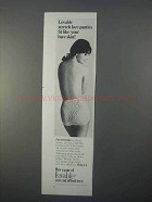 1966 Lovable Panties Ad - Fit Like Your Bare Skin