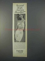 1966 Gossard Answer-Deb Ad, Long-Leg Pantie, Answer Bra