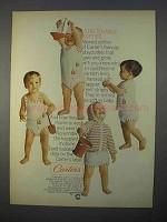 1966 Carter's Stretchable Softies Baby Clothes Ad