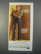 1966 Lee Lee-Prest Leesures Ad - $8 Slacks with Shirt