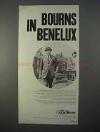 1966 Bourns Inc. Ad - In Benelux