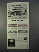 1966 Inland Steel Buildings Ad - How Much Cost?
