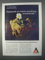 1966 Allis-Chalmers Ad - Farewell Hard-Working Weekends