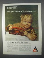 1966 Allis-Chalmers Construction Equipment Ad - Traffic