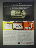 1966 Allen-Bradley Ceramic Permanent Magnets Ad