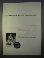 1966 Warner & Swasey Turret Lathes Ad - Obsoleting