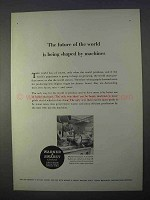 1966 Warner & Swasey 4-A Turret Lathe Ad - The Future