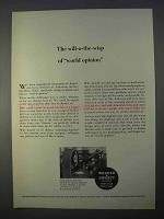 1966 Warner & Swasey Baldwin Testing Machine Ad - Opinion