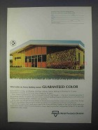 1966 Armco Metal Products Division Ad, Guaranteed Color