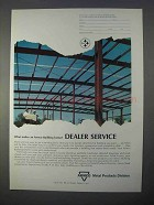 1966 Armco Metal Products Division Ad - Dealer Service