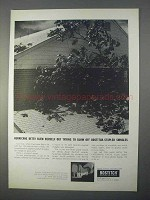 1966 Bostitch H6 Roof Hammer Ad - Hurricane Betsy
