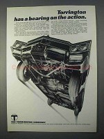 1966 Torrington Company Ad - A Bearing on the Action