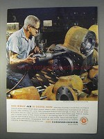 1966 Gardner-Denver Impact Wrench Ad - Air is Doing