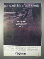 1966 A.O. Smith Pipeline Ad - The Secret Life Of