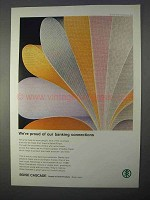 1966 Boise Cascade Safety Paper Ad - Banking