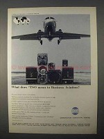1966 Collins Radio Company Ad - TSO Business Aviation